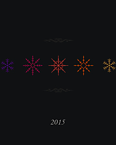 New Year 2015 Dark