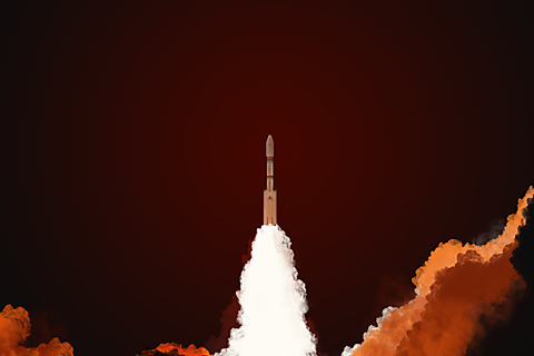 Pslv C25 Launch